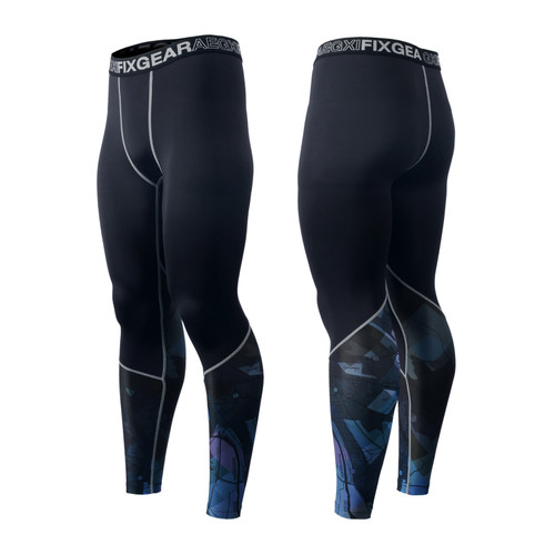 FIXGEAR FPL-G14 Compression Base Layer Tights with Wide Waistband