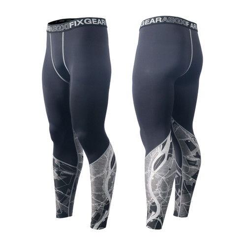 FIXGEAR FPL-G15 Compression Base Layer Tights with Wide Waistband