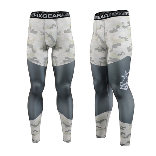 FIXGEAR FPL-M1 Compression Base Layer Tights with Wide Waistband