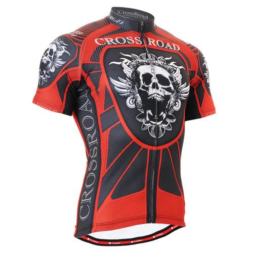 FIXGEAR CS-1302 Men's Cycling Jersey Short Sleeve Front