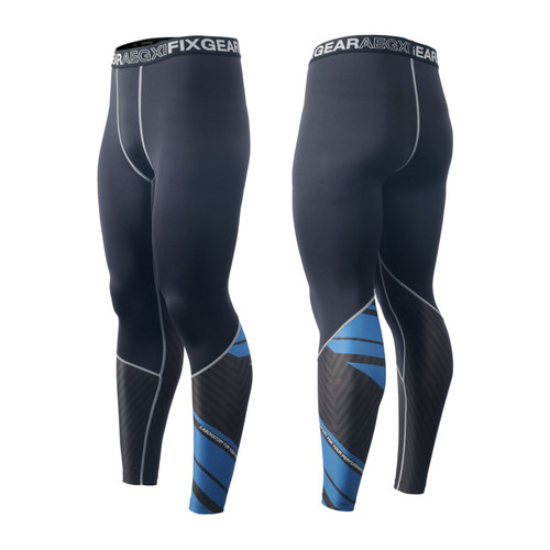 FIXGEAR FPL-P1 Compression Base Layer Tights with Wide Waistband