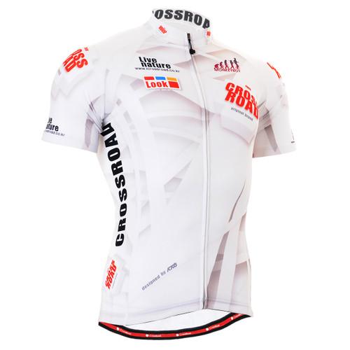 FIXGEAR CS-1402 Men's Cycling Jersey Short Sleeve Front