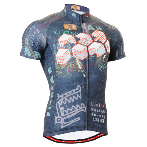 FIXGEAR CS-1502 Men's Cycling Jersey Short Sleeve Front