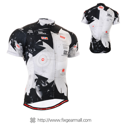 FIXGEAR CS-1702 Men's Cycling Jersey Short Sleeve