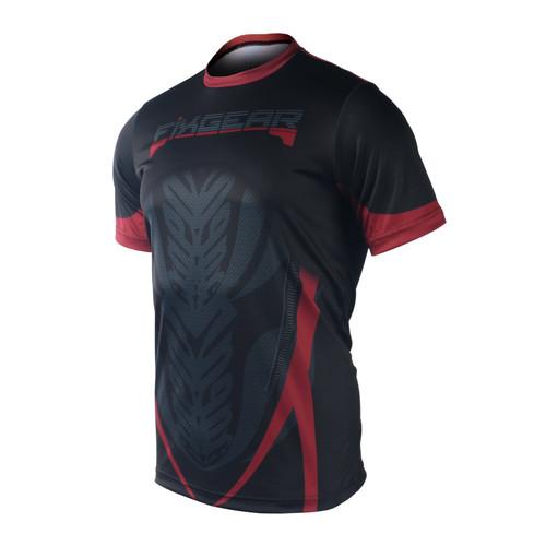 FIXGEAR RM-72 Men's Casual short sleeve Crew-Neck T-shirt
