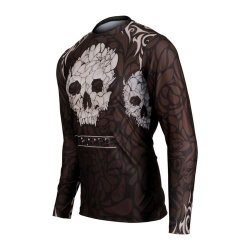 FIXGEAR RM-S19B1 Men's Casual Long sleeve Crew-Neck T-shirt