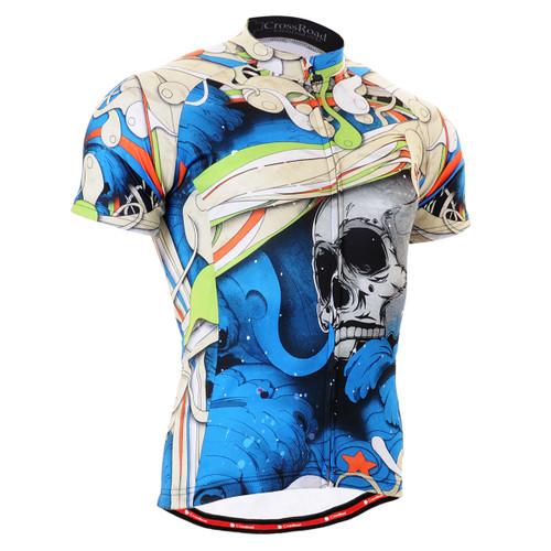 FIXGEAR CS-19B2 Men's Cycling Jersey Short Sleeve front