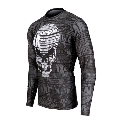FIXGEAR RM-S1701 Men's Casual Long sleeve Crew-Neck T-shirt