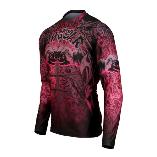 FIXGEAR RM-S2101 Men's Casual Long sleeve Crew-Neck T-shirt