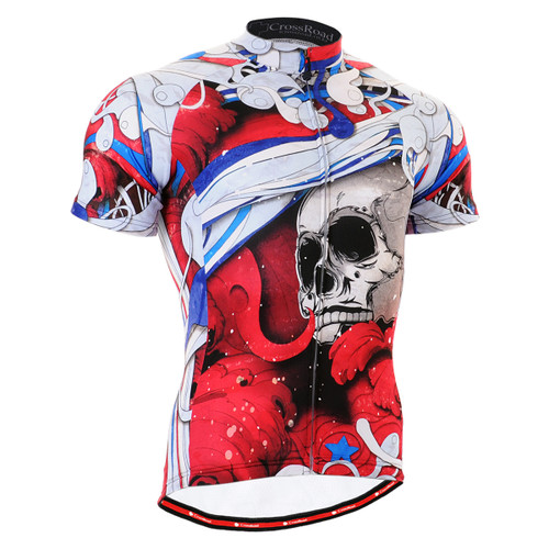 FIXGEAR CS-19R2 Men's Cycling Jersey Short Sleeve front