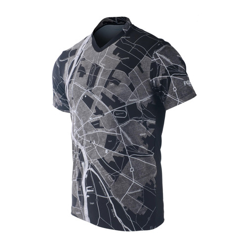 FIXGEAR TS-G15 Men's Casual Short sleeve V-Neck T-shirt