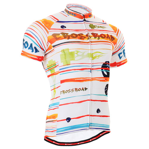 FIXGEAR CS-2002 Men's Cycling Jersey Short Sleeve front