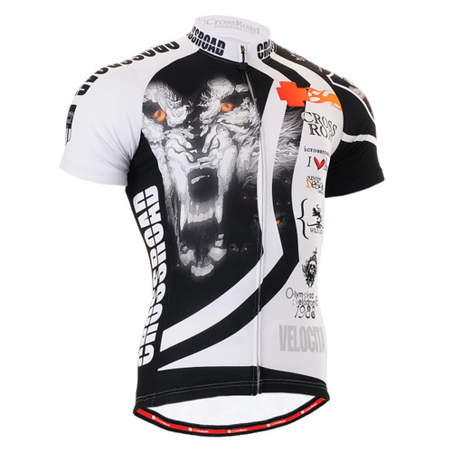 FIXGEAR CS-2202 Men's Cycling Jersey Short Sleeve Front