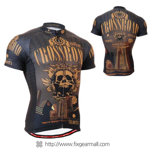 FIXGEAR CS-2702 Men's Cycling Jersey Short Sleeve