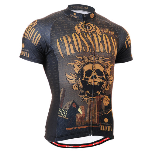 FIXGEAR CS-2702 Men's Cycling Jersey Short Sleeve Front