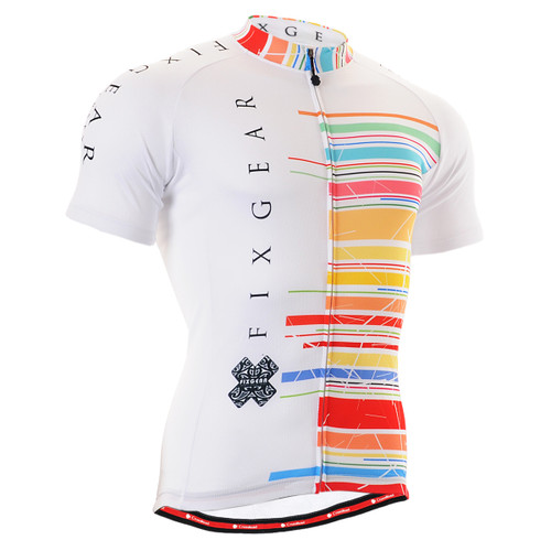 FIXGEAR CS-3302 Men's Cycling Jersey Short Sleeve Front
