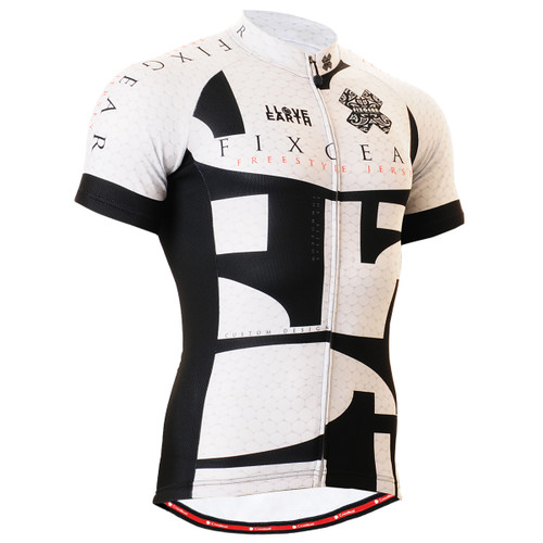 FIXGEAR CS-3402 Men's Cycling Jersey Short Sleeve Front