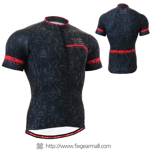 FIXGEAR CS-g602 Men's Cycling Jersey Short Sleeve