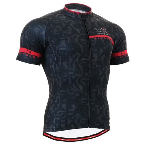 FIXGEAR CS-g602 Men's Cycling Jersey Short Sleeve Front