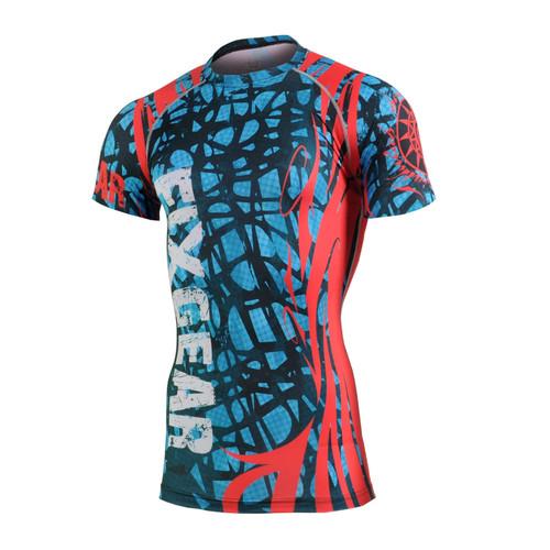 FIXGEAR CFS-H2 Compression Base Layer Short Sleeve Shirts
