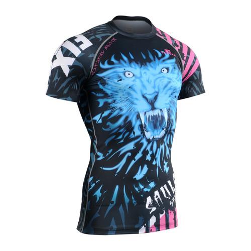 FIXGEAR CFS-H3 Compression Base Layer Short Sleeve Shirts
