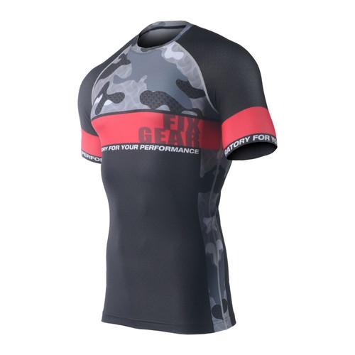 FIXGEAR CFS-M5 Compression Base Layer Short Sleeve Shirts