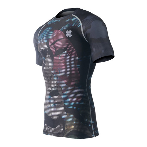 FIXGEAR CFS-M6 Compression Base Layer Short Sleeve Shirts