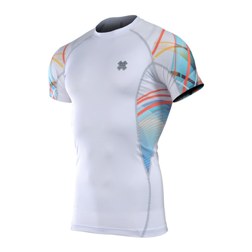 FIXGEAR C2S-W49 Compression Shirt Base Layer Short Sleeve