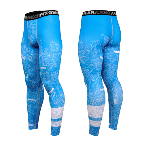 FIXGEAR FPL-S18C Compression Base Layer Tights with Wide Waistband
