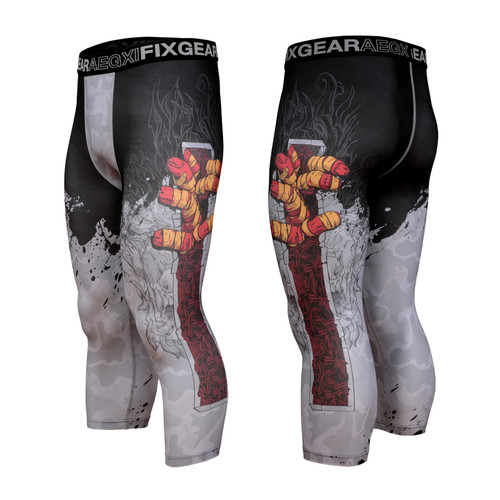 FIXGEAR FP7-S13 Compression Base Layer with Wide Waistband