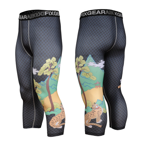 FIXGEAR FP7-S15 Compression Base Layer with Wide Waistband