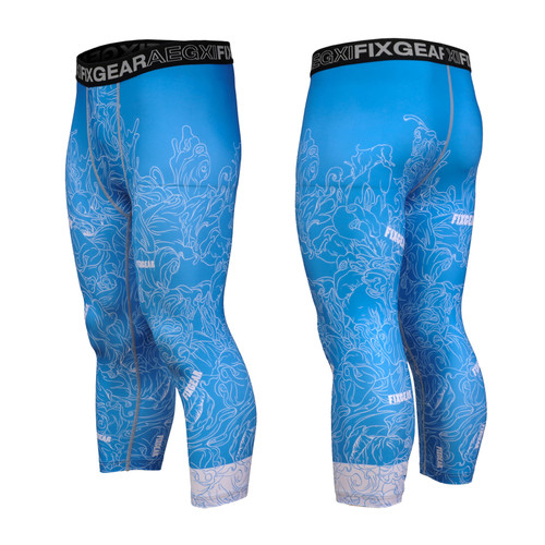 FIXGEAR FP7-S18C Compression Base Layer with Wide Waistband