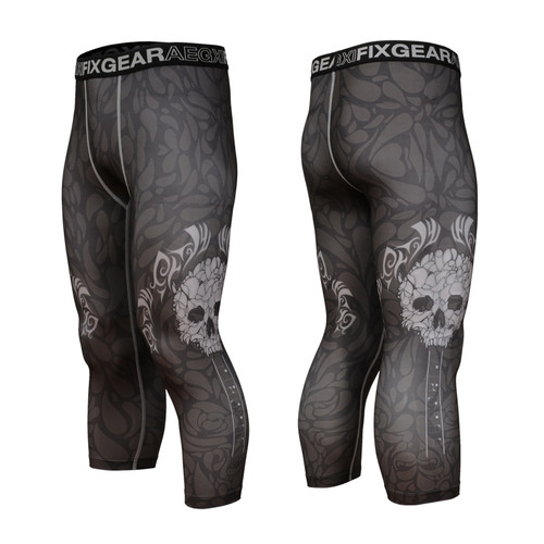 FIXGEAR FP7-S19B Compression Base Layer with Wide Waistband