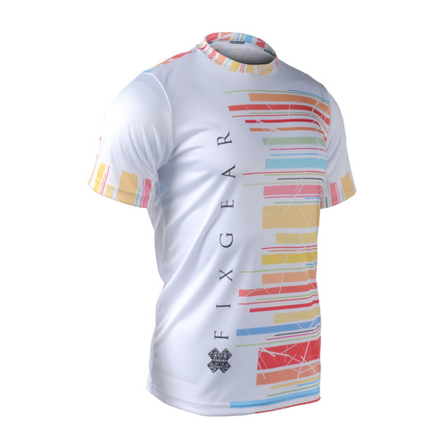 FIXGEAR RM-33 Men's Casual short sleeve Crew-Neck T-shirt