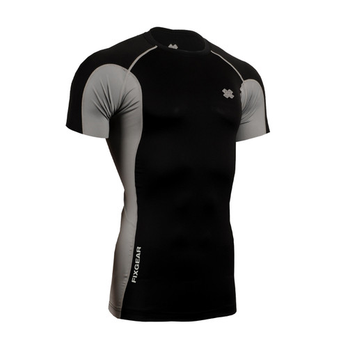 FIXGEAR CT-BSS Compression Base Layer Short Sleeve Shirt Twin Color
