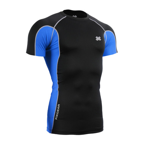FIXGEAR CT-BCS Compression Base Layer Short Sleeve Shirt Twin Color