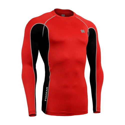 FIXGEAR CTR-BRL Compression Base Layer Long Sleeve Shirt Twin Color
