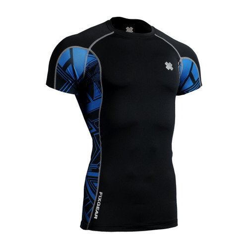 FIXGEAR CT-B1S Compression Base Layer Short Sleeve Shirt