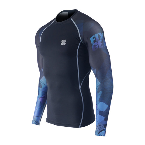 FIXGEAR CPD-BG14 Compression Base Layer Long Sleeve Shirts