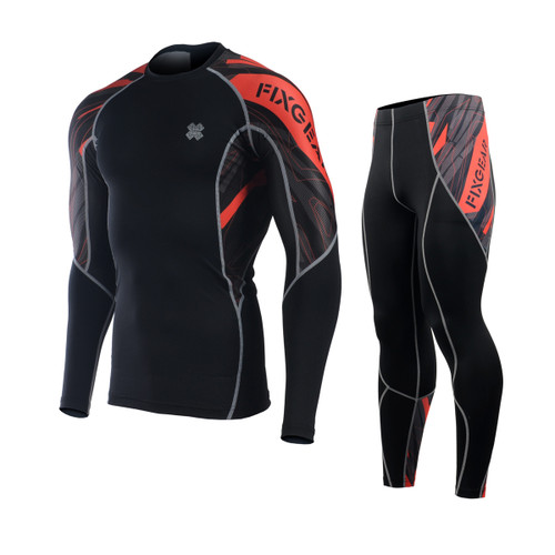 FIXGEAR C2L/P2L-B68 Compression Shirts/Tights Set