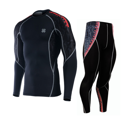FIXGEAR C2L/P2L-BG6 Compression Shirts/Tights Set