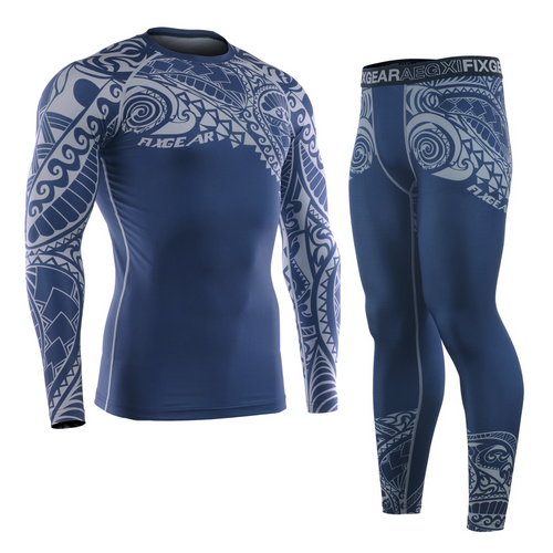 FIXGEAR CFL/FPL-S12 Compression Shirt and Tights Set