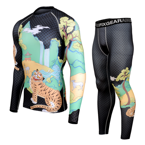 FIXGEAR CFL/FPL-S15 Compression Shirt and Tights Set