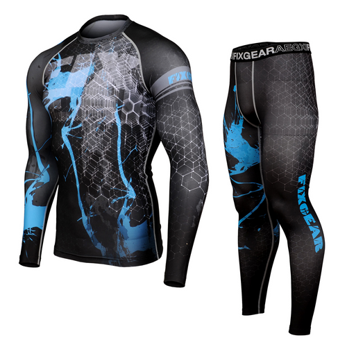 FIXGEAR CFL/FPL-S16 Compression Shirt and Tights Set