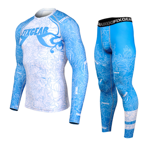 FIXGEAR CFL/FPL-S18C Compression Shirt and Tights Set