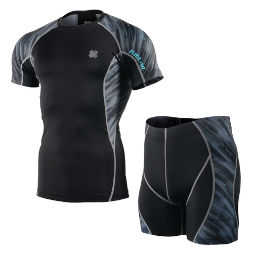 FIXGEAR C2S/P2S-B67 Compression Short Sleeve Shirt/Shorts Set