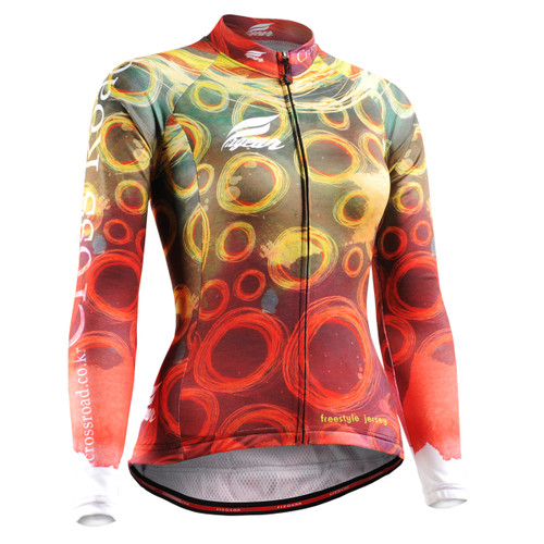 FIXGEAR CS-W401 Women's Long Sleeve Cycling Jersey