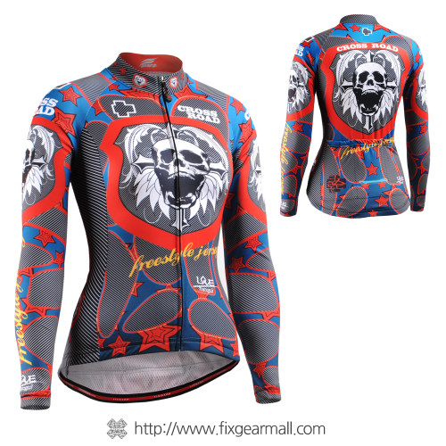 FIXGEAR CS-W1101 Women's Long Sleeve Cycling Jersey