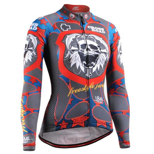 FIXGEAR CS-W1101 Women's Long Sleeve Cycling Jersey