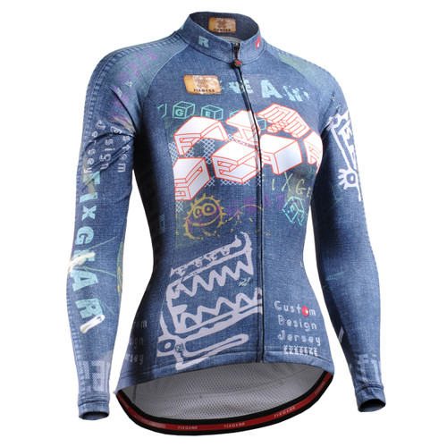 FIXGEAR CS-W1501 Women's Long Sleeve Cycling Jersey